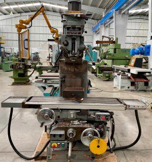 Fresadora de torreta vertical Rambaudi No. 3 con automaticos