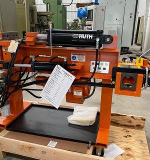 Dobladora de tubo hidraulica nueva marca Huth benders modelo 2806